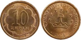 10 дирам 2006 Таджикистан