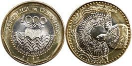 1000 песо 2012 Колумбия