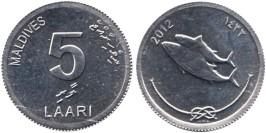 5 лари 2012 Мальдивы