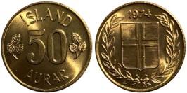 50 эйре 1974 Исландия UNC