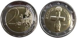 2 евро 2017 Кипр UNC
