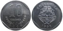 10 колон 1992 Коста Рика