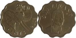 20 центов 2003 Свазиленд