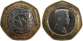 1/2 динара 2009 Иордания