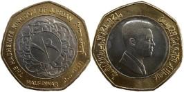 1/2 динара 2000 Иордания
