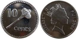 10 центов 2006 Фиджи UNC