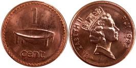 1 цент 1992 Фиджи