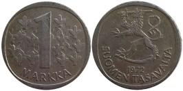 1 марка 1972 Финляндия