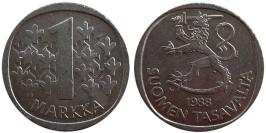 1 марка 1988 Финляндия