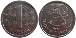 1 марка 1990 Финляндия