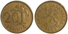 20 пенни 1963 Финляндия