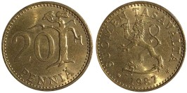 20 пенни 1987 Финляндия