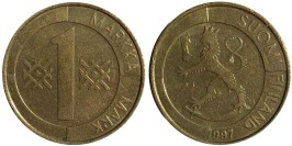 1 марка 1997 Финляндия