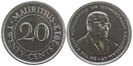 20 центов 2012 Маврикий