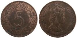 5 центов 1978 Маврикий