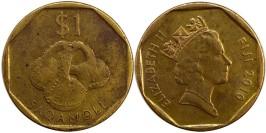 1 доллар 2010 Фиджи