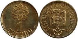 1 эскудо 1996 Португалия