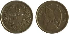 5 сентаво 1921 Чили