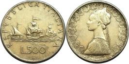 500 лир 1964 Италия — серебро