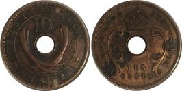 10 центов 1952 Британская Восточная Африка