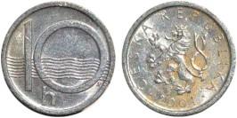 10 геллеров 2001 Чехия