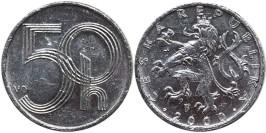 50 геллеров 2000 Чехия
