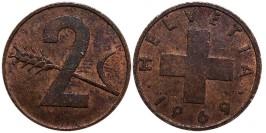 2 раппен 1969 Швейцария