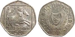50 центов 1998 Республика Кипр