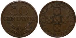 50 сентаво 1970 Португалия