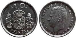 10 песет 1992 Испания