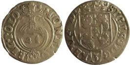 Полторак (1,5 гроша) 1634 Польша — Сигизмунд III — серебро