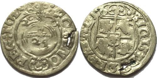 Полторак (1,5 гроша) 1620 Польша — Сигизмунд III — серебро №1