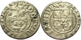 Полторак (1,5 гроша) 1624 Польша — Сигизмунд III — серебро №2