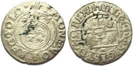 Полторак (1,5 гроша) 1625 Польша — Сигизмунд III — серебро