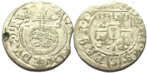 Полторак (1,5 гроша) 1626 Польша — Сигизмунд III — серебро