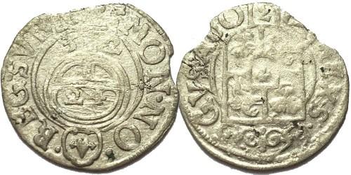 Полторак (1,5 гроша) 1632 Польша — Сигизмунд III — серебро