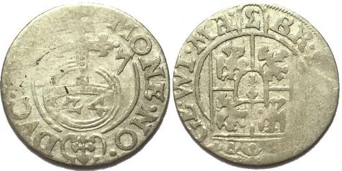 Полторак (1,5 гроша) 1627 Польша — Сигизмунд III — серебро