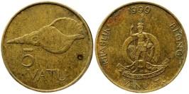 5 вату 1999 Вануату