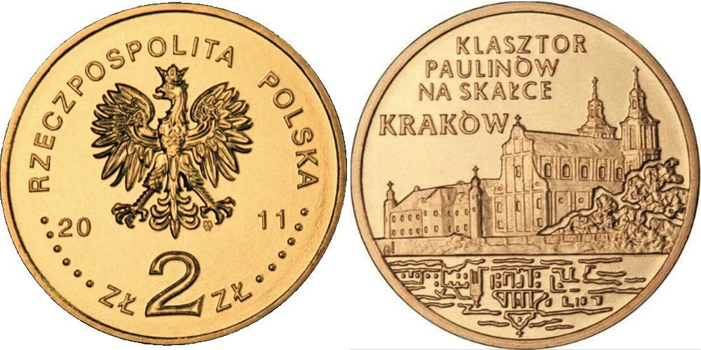 2 злотых 2011 Польша — Города Польши — Краков