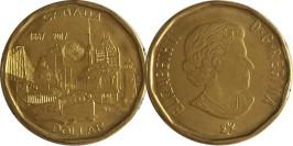 1 доллар 2017 Канада — 150 лет Конфедерации Канада — Объединённая нация