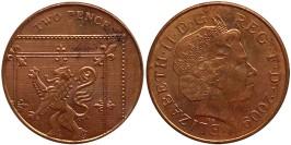 2 пенса 2009 Великобритания