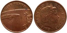 1 пенни 2013 Великобритания