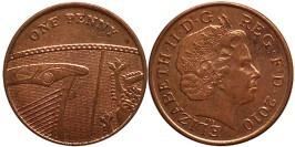 1 пенни 2010 Великобритания