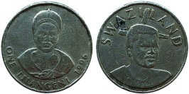 1 лилангени 1996 Свазиленд