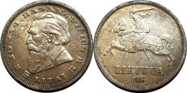 5 лит 1936 Литва — серебро