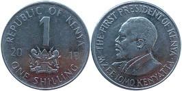 1 шиллинг 2010 Кения