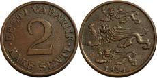 2 сента 1934 Эстония