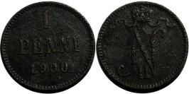 1 пенни 1900 Финляндия