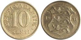 10 сентов 1931 Эстония