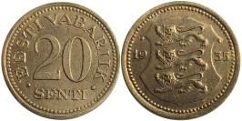 20 сентов 1935 Эстония